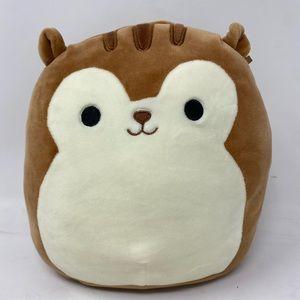 "8"" Brown squirrel squishmallow"